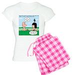 Adam's Lame Pick-up Line Women's Light Pajamas