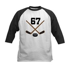Hockey Player Number 67 Tee