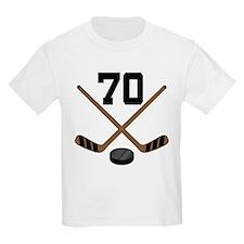 Hockey Player Number 70 T-Shirt