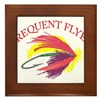 Frequent Flyer Framed Tile