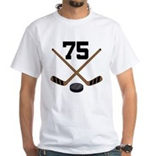 Hockey Player Number 75 Shirt