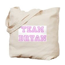 Pink team Bryan Tote Bag