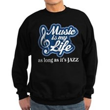 Jazz Music Lover Sweatshirt