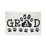 Grad 2013 Paws Rectangle Magnet