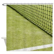 Tennis Net Shower Curtain