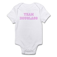 Pink team Douglass Infant Bodysuit