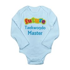 Future Taekwondo Master Long Sleeve Infant Bodysui
