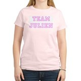 Pink team Julien Women's Pink T-Shirt
