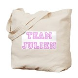 Pink team Julien Tote Bag