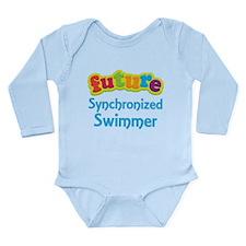 Future Synchronized Swimmer Long Sleeve Infant Bod