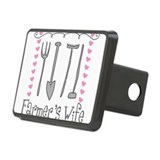 Farmer's Wife Rectangular Hitch Cover