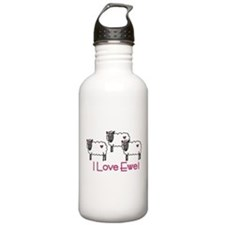 I Love Ewe Water Bottle
