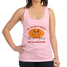 25th Purr-fect Anniversary Racerback Tank Top