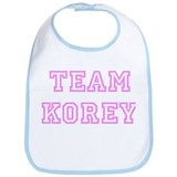 Pink team Korey Bib