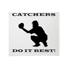 Catchers Do It Best Throw Blanket