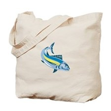 Albacore Tuna Fish Retro Tote Bag