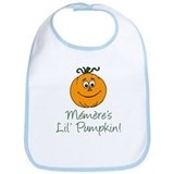 Memeres Little Pumpkin Bib