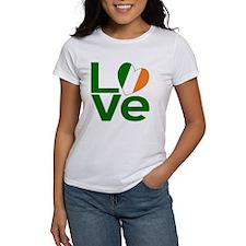 Green Irish Love Tee