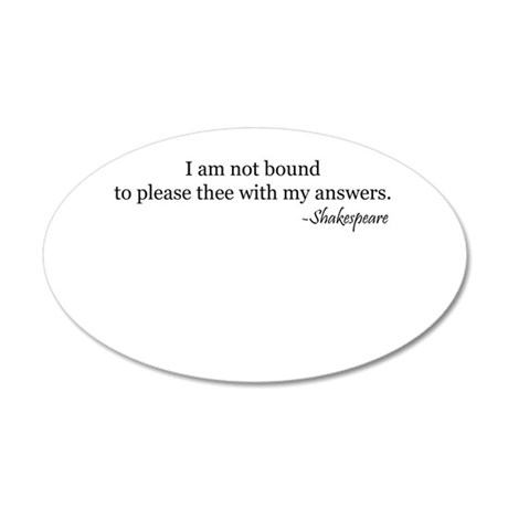 bound.psd 20x12 Oval Wall Decal