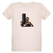 Navy Captain Sailor With Periscope T-Shirt