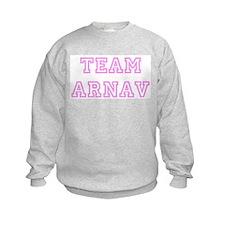 Pink team Arnav Sweatshirt