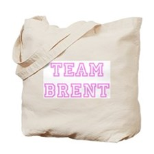 Pink team Brent Tote Bag