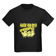 talk to my peeps with outline T
