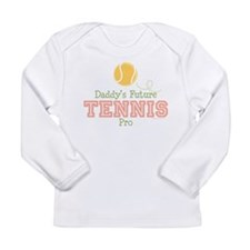 2-TennisFutureProPinkDaddyT Long Sleeve T-Shirt