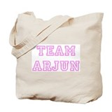 Pink team Arjun Tote Bag