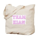 Pink team Kian Tote Bag