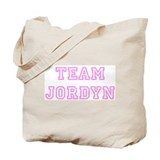 Pink team Jordyn Tote Bag