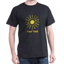 Happy Summer Sun and Text. T-Shirt