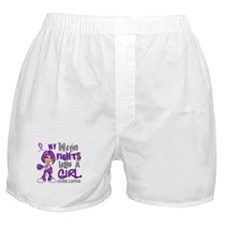 Fights Like a Girl 42.9 Lupus Boxer Shorts