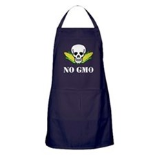 NO GMO Apron (dark)