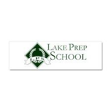 LAKE PREP SCHOOL Car Magnet 10 x 3