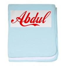Abdul name baby blanket