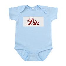 Din name.png Infant Bodysuit