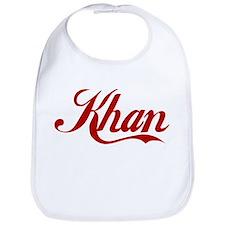 Khan name Bib