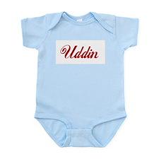 Uddin name.png Infant Bodysuit