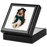 """Irish Sheltie"" Keepsake Box"