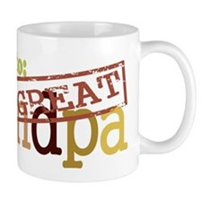 Promoted to Great Grandpa Mug