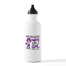 Fights Like a Girl 42.9 Lupus Water Bottle