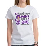 Fights Like a Girl 42.9 Lupus Tee