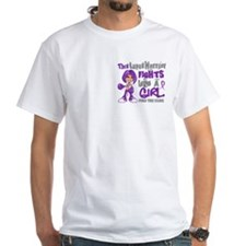 Fights Like a Girl 42.9 Lupus Shirt