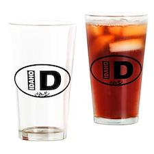 Idaho Rafting Drinking Glass