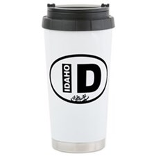 Idaho Rafting Ceramic Travel Mug