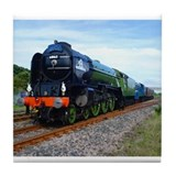 Flying Scotsman - Steam Train.jpg Tile Coaster