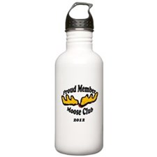 moose club.png Sports Water Bottle