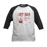 Birthday Girl Girls Tee Baseball Jersey