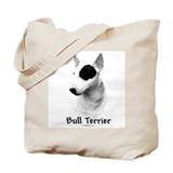 Bull Terrier charcoal Tote Bag